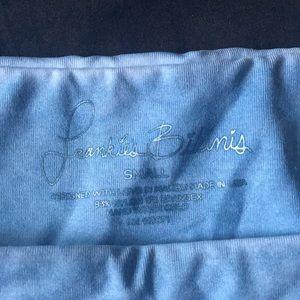 Frankie's Bikinis Swim - NWT Frankie's Set in Batik, Denim Blue